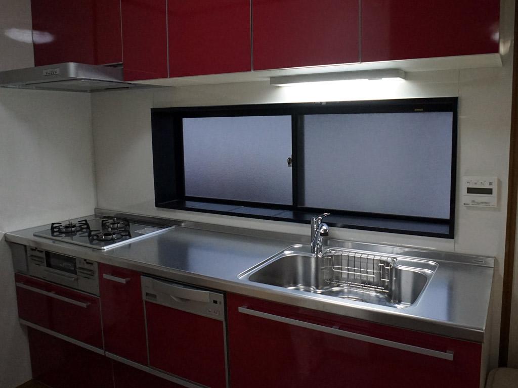 腰に負担をかけない調理しやすいキッチン