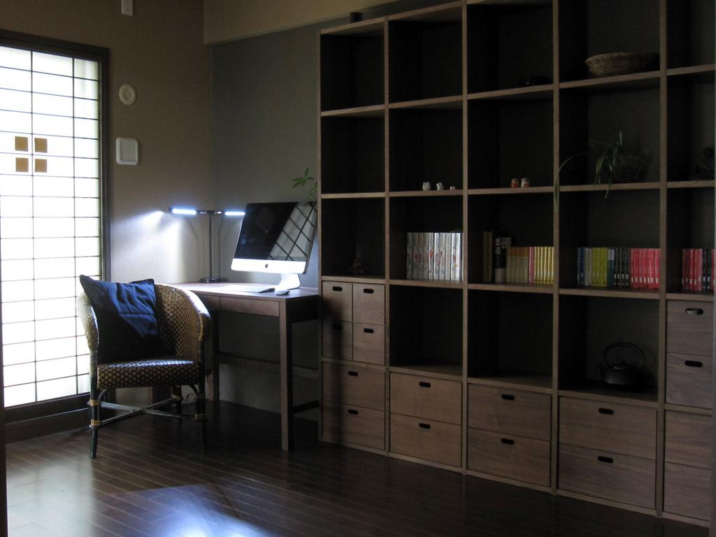 1人の時間を大切にする和の書斎