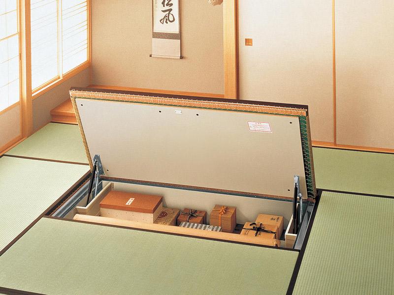 畳スペースを活用した収納の作り方