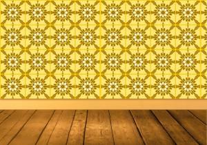 お花の柄、幾何学柄、キャラクター柄 などの柄によってお部屋の広さに影響力を受けます。