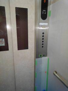 マンションリフォーム エレベーター内 養生
