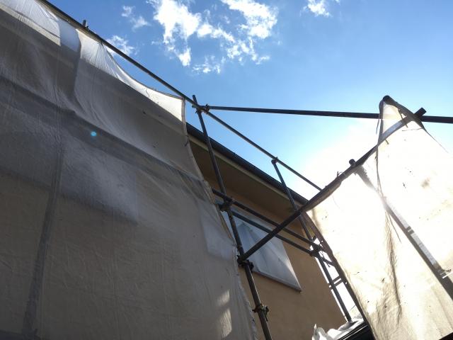 梅雨・夏前におススメの外壁塗装工事