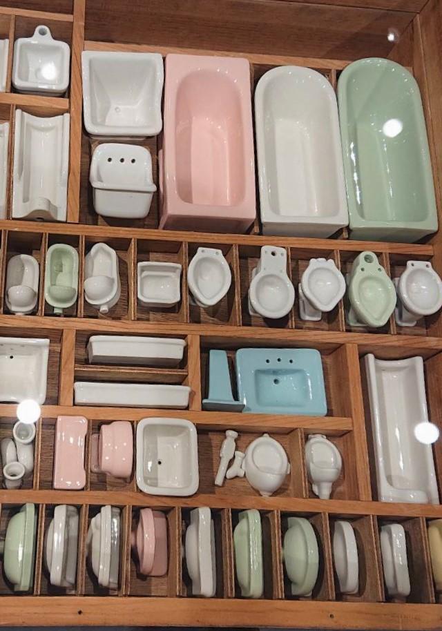 北九州市 totoミュージアム ミニチュア トイレ お風呂