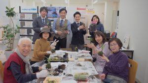 「新春リフォーム相談会」  イベントの「苔玉をつくろうのワークショップ
