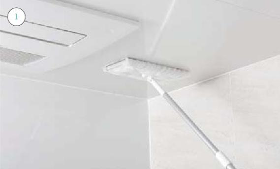 浴室天井_お手入れの仕方画像