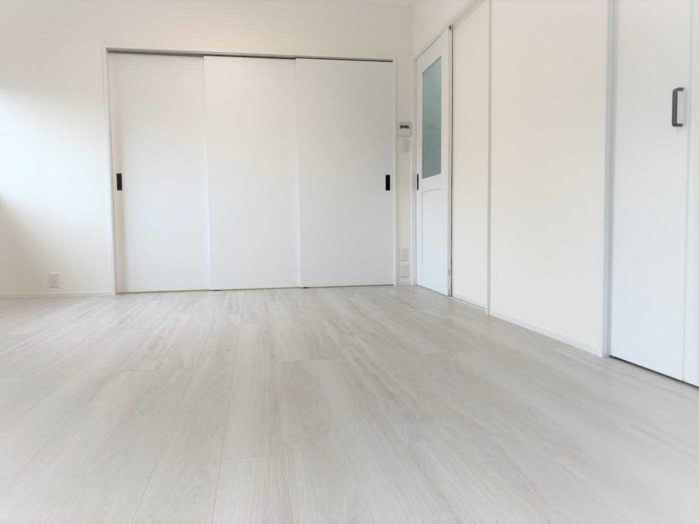 和室を広く明るい洋室に。使い勝手に合わせてオープンスタイルに。