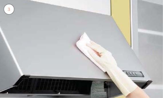 キッチンレンジフード_お手入れの仕方_汚れが目立ってきたら画像