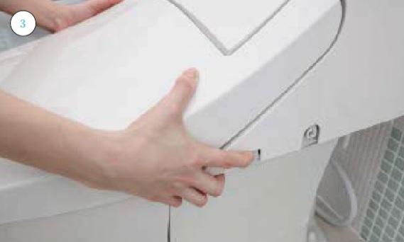 トイレ便器とシャワートイレのすき間_お手入れの仕方画像①