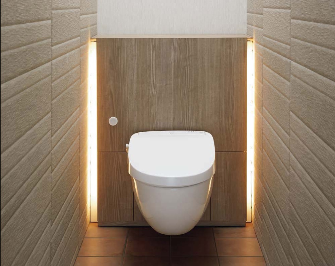 LIXIL洗練された空間を演出するフロートトイレ