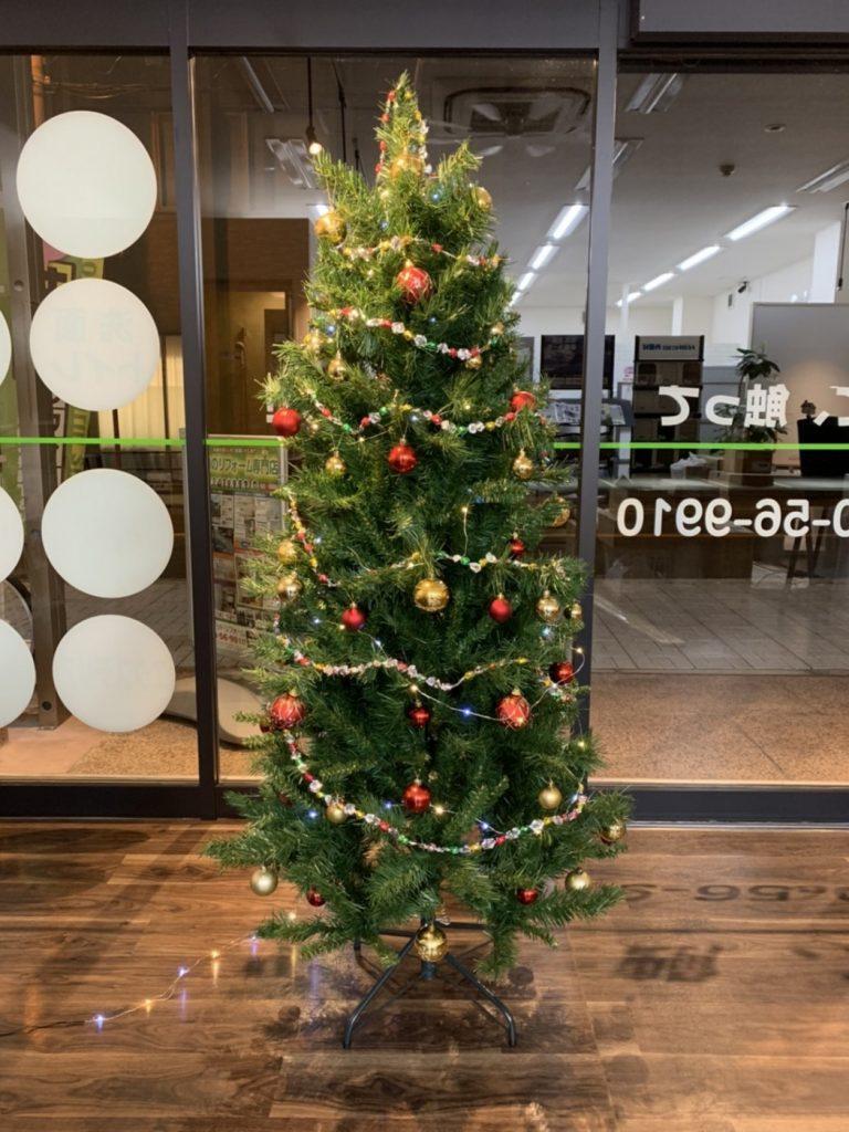 店舗クリスマスツリー