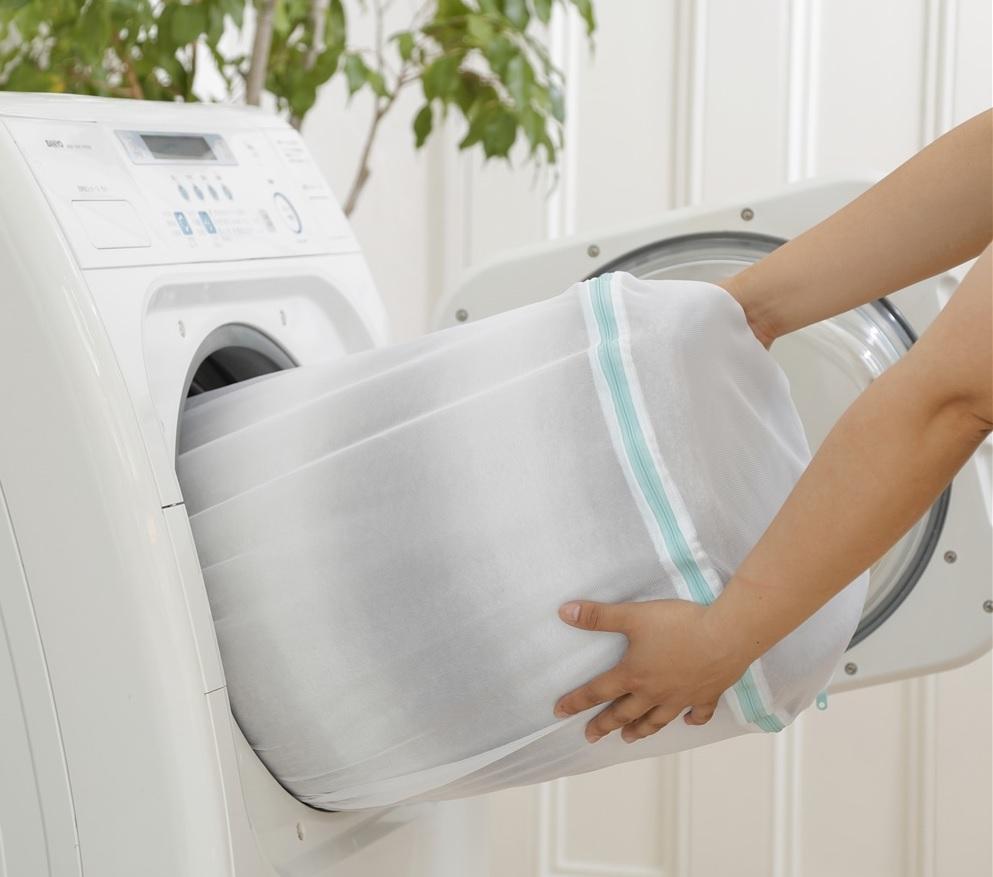 カーテン洗濯画像